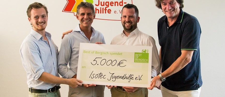 Best of Bergisch – das Unternehmernetzwerk e.V. überreich Spende