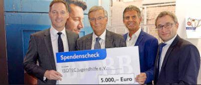 Die BBBank spendet 5.000 Euro an die ISOTEC Jugendhilfe e. V.