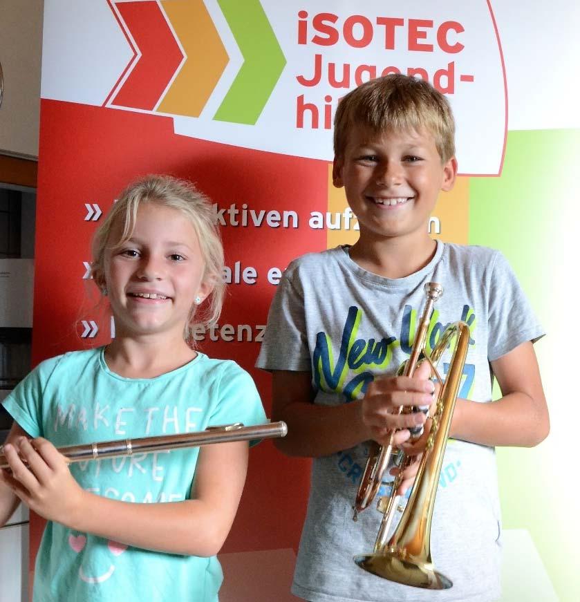 ISOTEC-Jugendhilfe unterstützt Musikprojekt in Grundschule