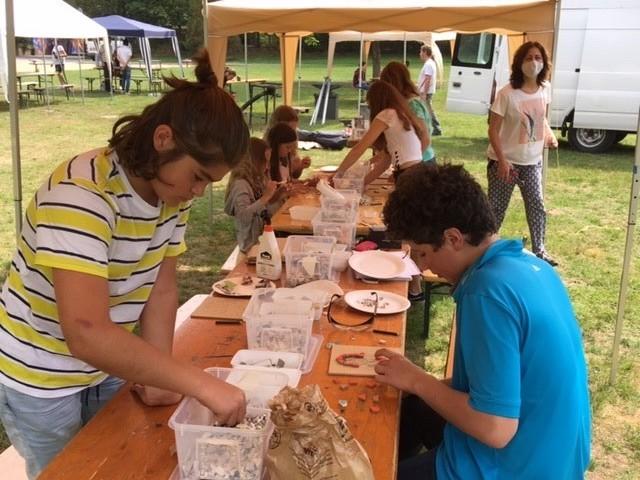 Kreativaktionen in den Sommerferien